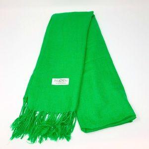 100%Pashmina Green Scarf